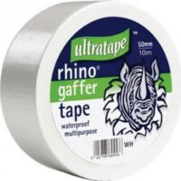hvítt tape