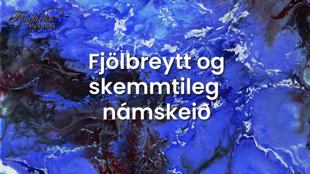 Námskeið hjá Föndurlist
